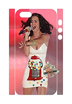 [case forcolor]:Katy Perry Hard Case for Iphone 5 5S.