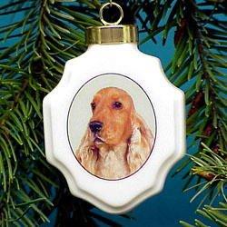 Christmas Ornament: Cocker Spaniel