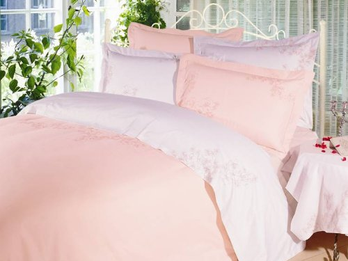 Boundless Starlight Embroidered Duvet Cover And Pillow Sham Set, Twin front-786319