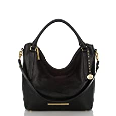 Norah Hobo Bag<br>Black Nepal