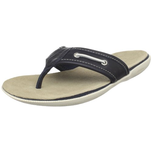 Sperry Top-Sider Men's A/O Thong Sandals,Navy,8 M US