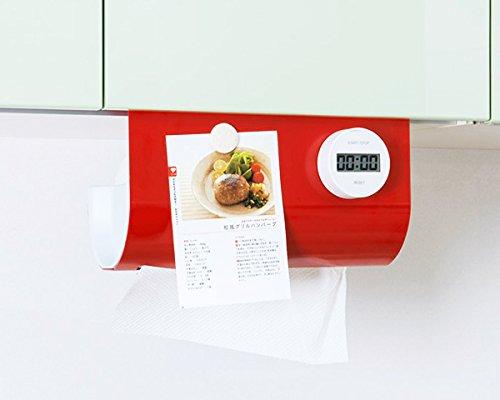 UCHIFIT(ウチフィット) キッチンペーパーハンガー ホワイト