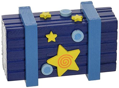 Caja de truco de magia con cierre secreto, colorido
