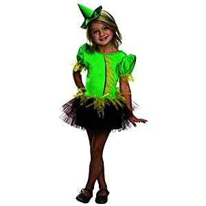 Rubies Wizard of Oz 75th Anniversary Collection Scarecrow Tutu Dress Costume