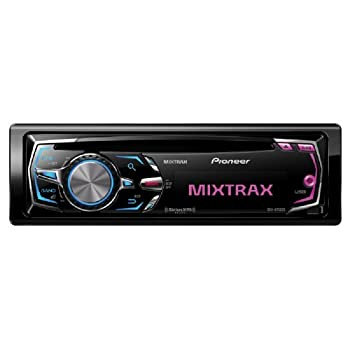 In-Dash CD/MP3/WMA Car Stereo Receiver w/ iPod Control, Pandora Support, Rear USB Input & MIXTRAX