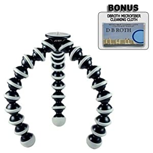 Joby GP3 Gorillapod SLR-Zoom Flexible Tripod For The Pentex Q Digital Camera