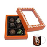 Chocholik Belgium Chocolate Gifts - Exceptional Combination Of Tempting Truffles With Diwali Special Coffee Mug...