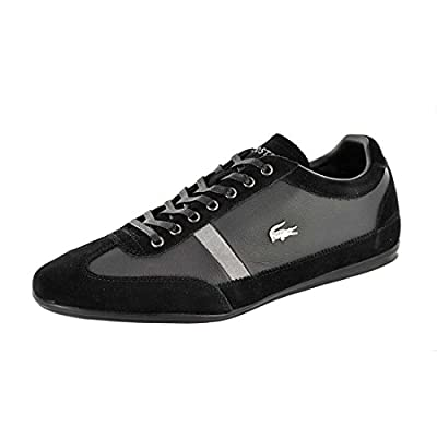 Lacoste Men's Misano 22 Fashion Sneaker, Black, 8 M US