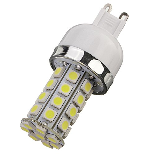 Dimmable G9 Base 7W 36 5050 Smd Led Corn Light Bulb Lamp Cool White 5500-6500K 110V