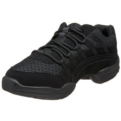 Capezio Women's Rockit Dance Sneaker,Black,4 M US