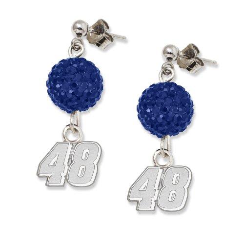 NASCAR Jimmie Johnson LogoArt Ovation Earrings