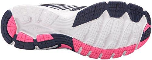 Fila Women's Xtenuate Running Shoe, Fila Navy/Dark Silver/Knockout Pink, 8 M US