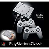 Sony PlayStation Classic Console Limited Edition Bundle with 20 Games & USB AC Adapter
