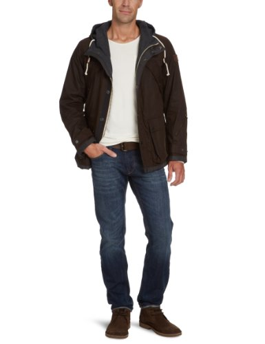 Marc O'Polo Men's 227 0240 70118 Parka Brown (770 Dark Wood) 56