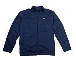 Nike Men\'s Golf Therma-fit Stay Warm Full Zip Jacket (L, Obsidian)