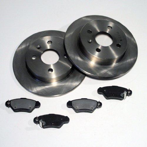 Opel Meriva - Bremsscheiben Ø 240 mm / Bremsen 4-Loch + Bremsbeläge hinten