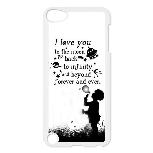 I Love You To The Moon And Back iPod Touch 5 Soft Cases-Coberr Provide Superior Cases For iPod Touch 5