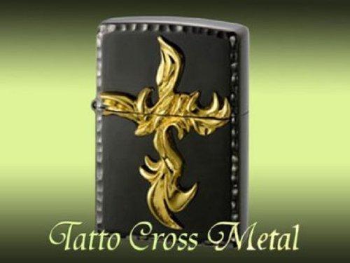 Zippo Zippo lighter regular Tatto Cross Metal タトゥクロス metal BNG