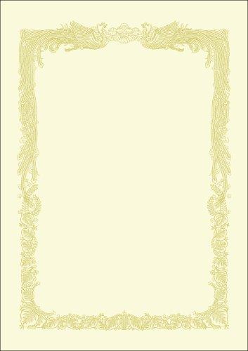 Taka marque OA prix horizontal A4 10 feuilles de papier avec papier Kent crème 10-1068