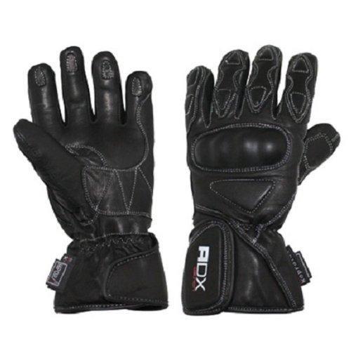Gants moto ADX XROAD - Hiver - Cuir - Noir - Taille 2XL