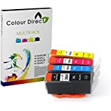 4X 364XL ColourDirect Ink Cartridges for HP Photosmart 5510, 5511, 5512, 5514, 5515, 5520, 5522, 5524, 6510, 6512, 6515, 6520, 7515, B010a, B109a, B109d, B109f, B109n, B110a, B110c, B110e, HP Photosmart Plus B209a, B209c, B210a, B210c, B210d, HP Deskjet 3070A, 3520, 3522, 3524, Officejet 4610, 4620 High capacity