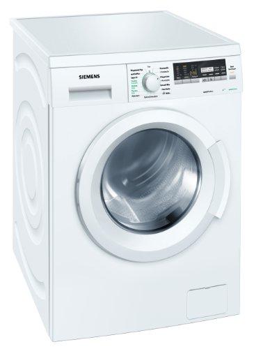 Siemens WM14Q4ED Waschmaschine Frontlader / A+++ B / 1400 UpM / 7 kg / Weiß / Zeitvorwahl / Knitterschutz