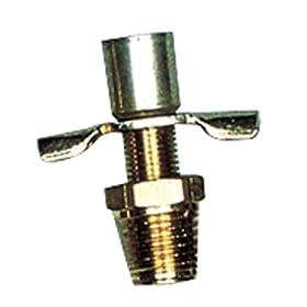 """Camco Mfg 11663 Marine 1/4"""" Water Heater Drain Valve"""