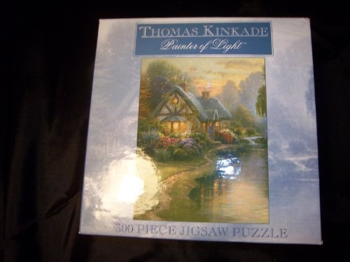 Thomas Kinkade 300pc Jigsaw Puzzle - A Quiet Evening - Ceaco