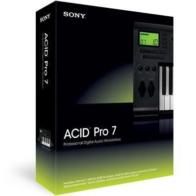 New Sony Creative Software Acid V.7.0 Pro Transparent Technology Design Removes Typical Barriers