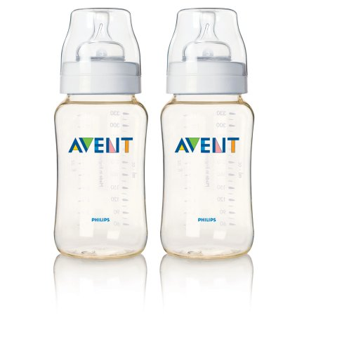 Philips Avent 11 oz BPA Free Bottle, Dual Pack