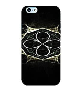 PrintVisa Modern Art Design 3D Hard Polycarbonate Designer Back Case Cover for Apple iPhone 6S