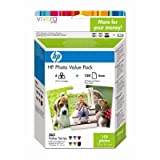6 HP Photosmart D7160 Original Printer Ink Cartridges - Cyan / Light Cyan / Magenta / Light Magenta / Yellow / Black