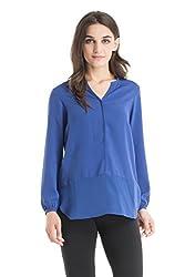 Kazo Women's Body Blouse Shirt (109155MZRNBLXS)