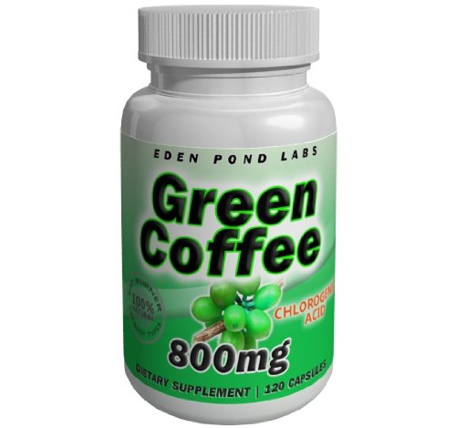Green Coffee Bean Extract 800mg Double Strength Fat Burner 120 Capsules Natural Weight Loss Pills 50 Chlorogenic Acid Pure Green Coffee Bean Extract 800mg Per Serving 40 Day Supply