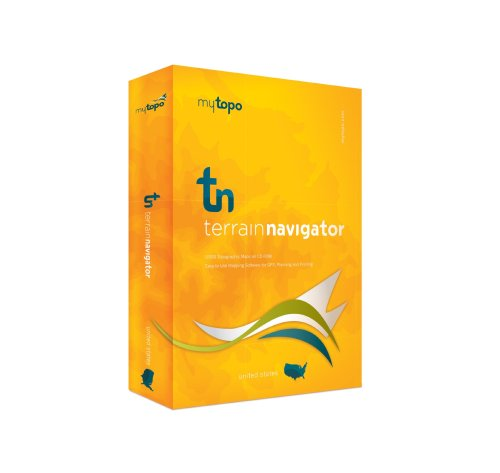 MyTopo Terrain Navigator Alabama Map CD-ROM (Windows)