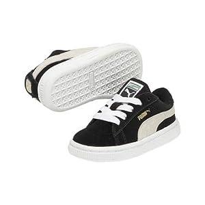 Puma kds suede classic noir chaussures mode enfant Puma T:34