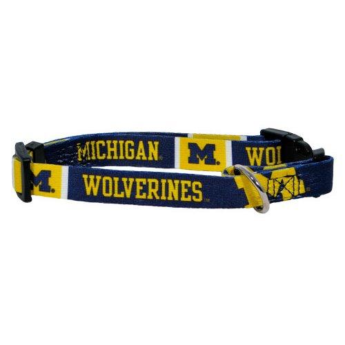 hunter-mfg-michigan-wolverines-hundehalsband-extra-kleine