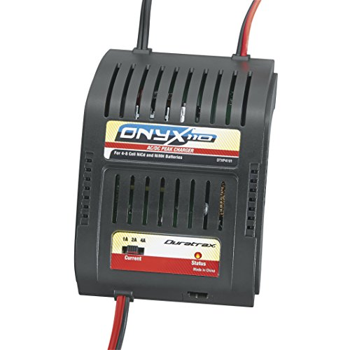 Duratrax Onyx 110 AC/DC Peak Charger for Four-to-Eight Cell Nickel-Cadmium or Nickel Metal Hydride Battery Packs (Peak Charger compare prices)