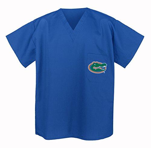 Florida Gators Scrubs Top Shirt-Size Xl- University Of Florida Men Ladies front-916307