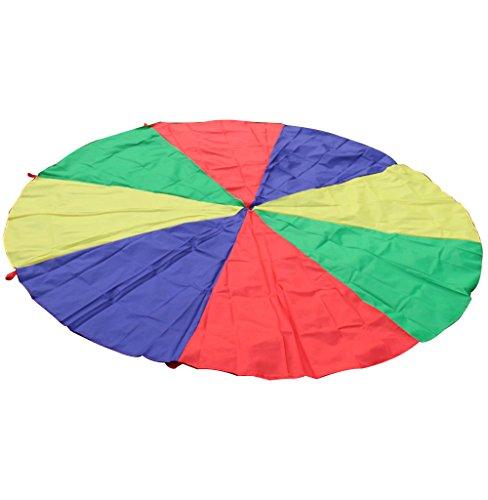 4m Bambini Giocano Arcobaleno Paracadute Gioco All'aperto Giocattolo Esercizio Famiglia Sportiva