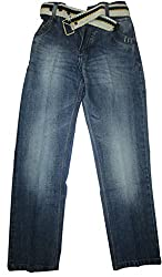 Topchee Kids' Jeans (JNK-02_Blue_2 to 3 Years)