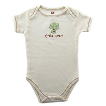 Low Price Hudson Baby Natural Organic Bodysuit