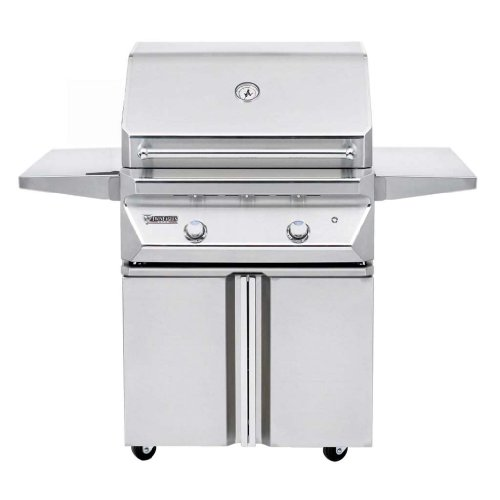 """Twin Eagles 30"""" Natural Gas Grill On Double Doors Cabinet"""