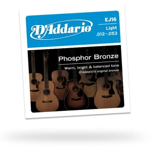 D'Addario EJ16 Phosphor Bronze Light Acoustic
