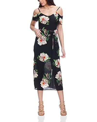 Tantra Vestido Largo Flower Print With Ruffles And Straps