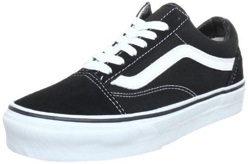 Vans U OLD SKOOL VD3HY28, Unisex-Erwachsene Sneaker, Schwarz (Black/White