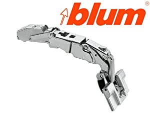 Blum 71T7540N CLIP Top Full Overlay INSERTA Zero Protrusion Cabinet Door Hinge with 155-Degree Opening Angle and Self Close Function