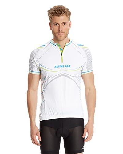 Alpine Pro Maglietta Ciclismo Liborio [Bianco]