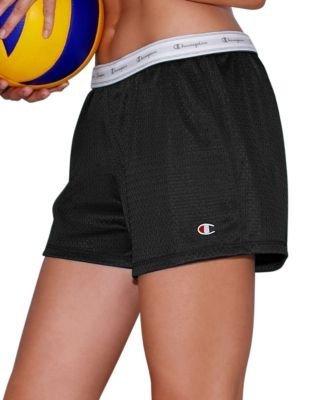 Champion Women's Mesh Shorts - X-Large, Black