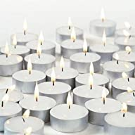 New Waxations Tealight Candles White…